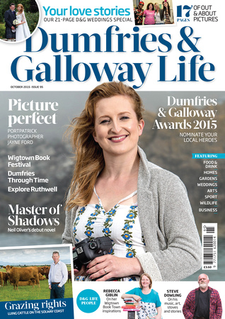 Dumfries & Galloway Life magazine. Cover.